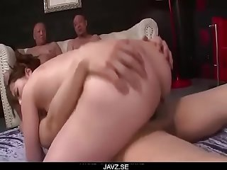 Yui hatano looks pleased with so many dicks around her from javz se