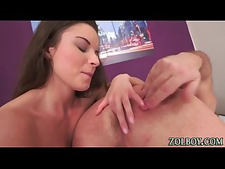 Teen masseuse creampied