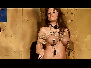 Big boobs girl domineated and fucked well.