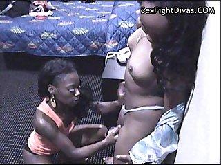 Ebony ravaged vixen