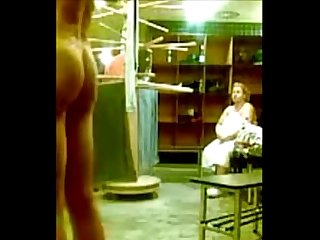 Coed locker room dick flash