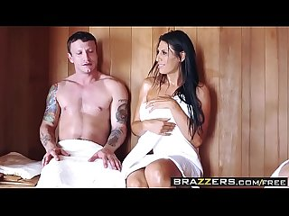 Brazzers mommy got boobs makayla cox mr pete Sneaky Sauna mama