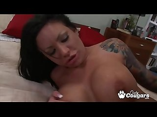 MILF Mason Moore Gets Fucked So Hard She Squirts Pussy Cum