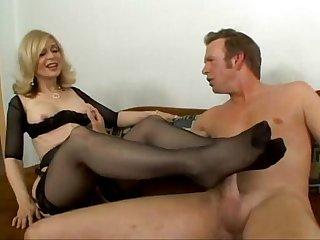 Nina hartley footjob
