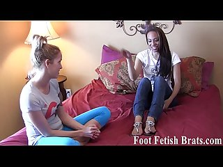 Lesbian foot worship for free yoga lessons