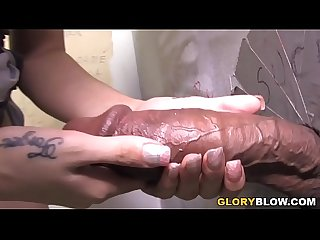 Megan foxx gives Blowjob to shane diesel gloryhole