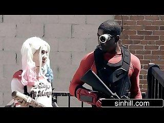 Suicide Squad XXX Parody - Aria Alexander as Harley Quinn