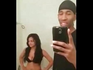 Bbc fucking his little bitch in the bathroom