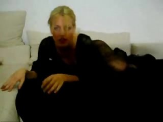 Nikole Amateur German Tranny Strips