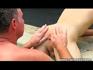 Hot gay Sex Daddy brett obliges of course comma after sharing some oral