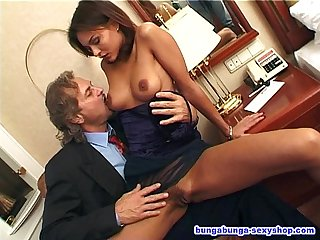 Beautiful girl opens her ass to the big dick of remigio zampa