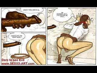 Thin beautiful blonde Sex comics