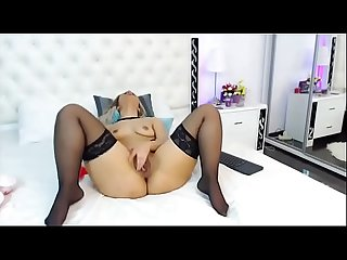 Aylin Aysun playing with dildo - camgf.net