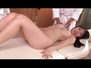 Chinatsu kuru big breasts girl gets an erotic oil massage japanese