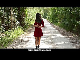 Punishteens petite teen dominated and fucked hard