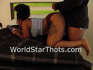 Ebony Thot getting dick go check out the full video worldstarthots com
