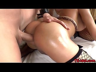 Raw fucked shemale jizz
