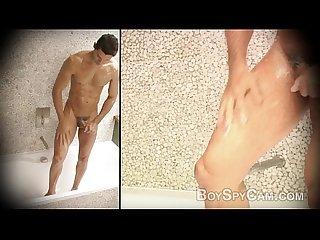 Boy in shower 4