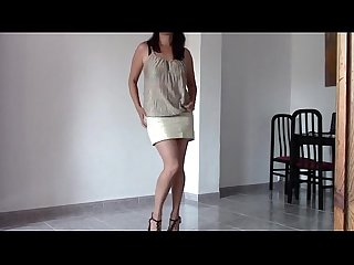 Maria dances then i fuck her in the ass creampie