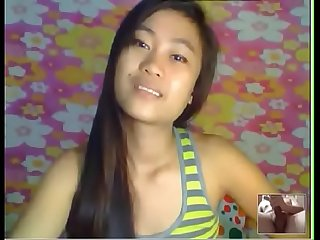 18yo thai teen fingering pussy on webcam watch her live at www angelzlive com