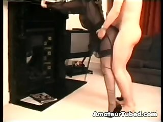 Noisy orgasm as i 039 M fucked standing up