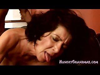 Granny slut gets a firm banging