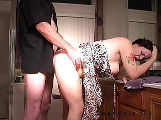 Homemade amature painful anal