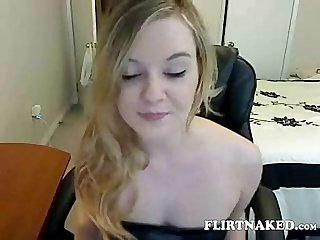 Sexy princess Joi teases and denies