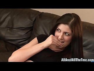 Cute teen miranda miller gets ass filled with cum