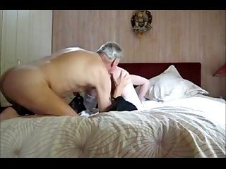 old man sucks big balled young crossdresser
