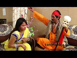 Dhongi baba with housewife blackmailer tantrik baba hindi short film