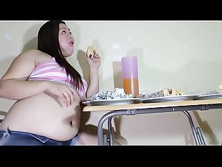 Fat asian belly stuffing