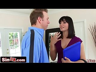 Door to door sales girl bobbi starr trades her asshole