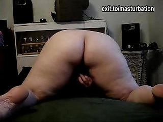 Nance bbw single girl toys and cums