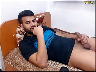 Cute delhi guy masturbating