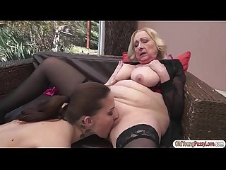 Lesbian old and young videos