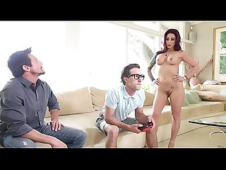 FILTHY FAMILY - MILF Monique Alexander Fucks Her Step Son Lucas Frost After Graduation