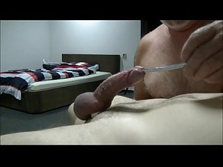 Young slave cums by cbt sounding 480 800 2htmp g205 up