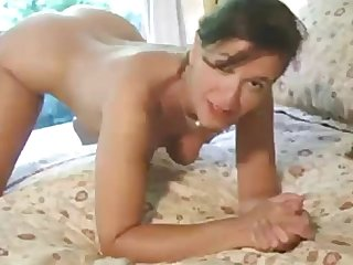 Beautiful brunette milf had quick fuck which ends wi fuck which ends with facial