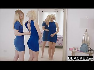 Blacked two college co eds share a bbc