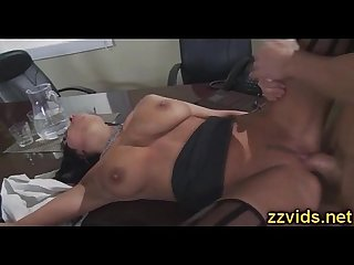 Gorgeous french brunette anissa Kate office fuck