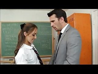 Horny student fucked by her teacher