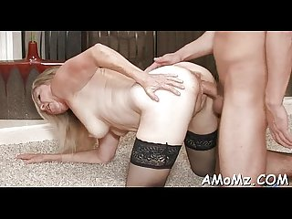 Licking and fucking hot mamma
