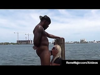 Bbc rome major fucks granny mandie mcgraw on the dock excl