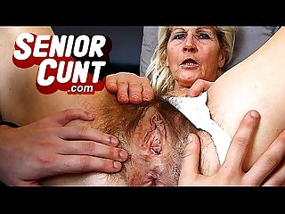 Old pussy gaping close ups pov style with lady ivona