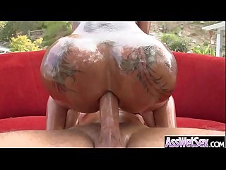 Amazing anal sex on cam with big ass oiled girl bella bellz video 07