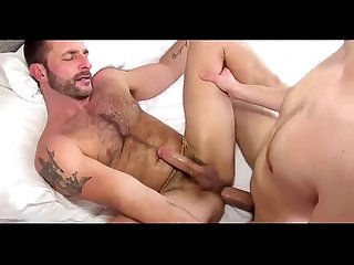 Boy raw fucks daddy creampie