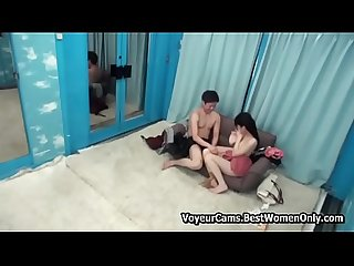Japanese Sex Games Young Couple Glass Room 15 VoyeurCams.BestWomenOnly.com -- Part2..