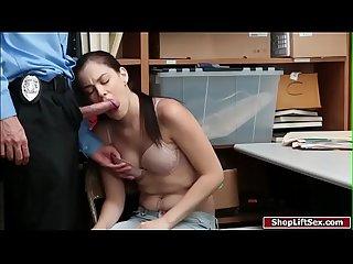 Suspect fucks officer for her release