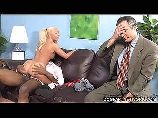 Jaelyn Fox Interracial Sex - Watching My Daughter Goes Black
